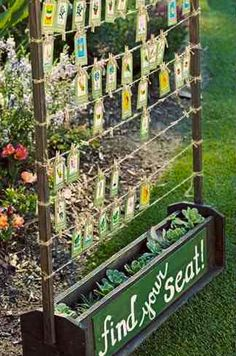 Fab seed table plan idea