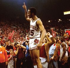 """Darrell Griffith is the greatest player in University of Louisville history.  """"Dr Dunkenstein"""" is the school's all time scorer.  In 1980 he led the Cardinals to the NCAA national title.  He won the Wooden Award, MOP in the Final Four, and was first team All-American that year."""