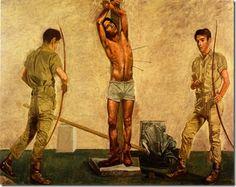 Saint Sebastian (1970) by Yannis Tsarouchis
