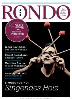Simone Rubino - Singendes Holz Jetzt in RONDO:  #Jazz #jazzmusic #classicalmusic #trommeln #music #Musik #drums