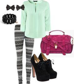 Dream Weekend Wear {Jesse's Girl} #fashion #polyvore