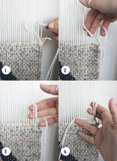 I have been weaving almost every day for over a year now. It brings me peace and makes me happy, but it also teaches me about patience an...