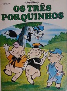 Os Três Porquinhos - Sebo Vitória Régia   Livros