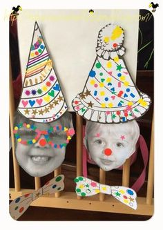 9 Carnival Themes, Circus Theme, Cat Birthday, Birthday Parties, Preschool Summer Camp, Theme Carnaval, Crafts For Kids, Arts And Crafts, Kids Corner