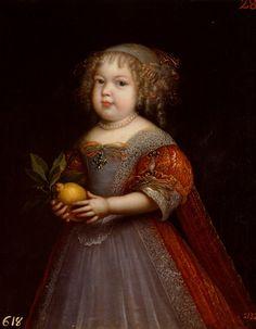 Marie-Thérèse de France, dite 'la Petite Madame', par Nocret