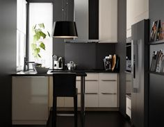 Ikea Modern Kitchen - Small Spaces