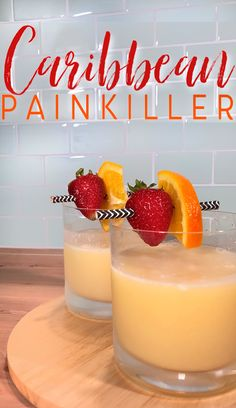 Caribbean Painkiller Recipe: A Summertime Favorite : caribbean painkiller recipe A Caribbean classic that packs a delicious punch. Liquor Drinks, Cocktail Drinks, Bourbon Drinks, Blended Alcoholic Drinks, Tropical Alcoholic Drinks, Vodka Cocktails, Food And Drinks, Bacardi Drinks, Amaretto Drinks