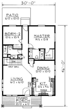 Great Apartment Layout Home Sweet Home Pinterest Square Feet - 1000 to 1200 square foot house plans