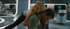 """'Passengers' trailer lands along with new Chris Pratt, Jennifer Lawrence images - https://movietvtechgeeks.com/passengers-trailer-lands-along-new-chris-pratt-jennifer-lawrence-images/-Not long after unveiling the teaser trailer for Chris Pratt and Jennifer Lawrence's """"Passengers"""" movie, Sony Pictures unleashed the first full-length trailer which gives away a lot."""