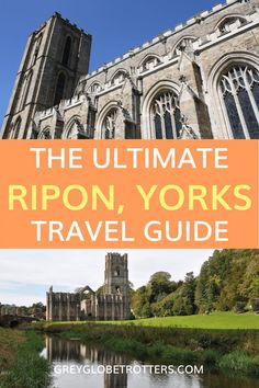 Planning a trip to England? Ripon in Yorkshire is a great place to visit. Use this guide to discover all the best things to see and do in Ripon including Ripon cathedral, Ripon museums and Fountains Abbey #ripon #yorkshire #visitengland England Ireland, London England, Travel Couple, Family Travel, Ripon Yorkshire, Ripon Cathedral, Scotland Travel Guide, British Travel, London
