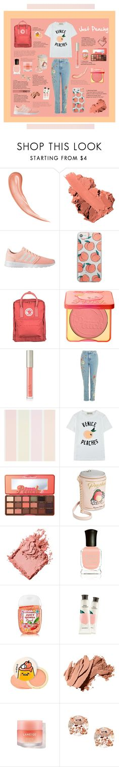 """🍑Summer peach magazine article🍑"" by alyssamb615 ❤ liked on Polyvore featuring Bobbi Brown Cosmetics, adidas, Skinnydip, Fjällräven, Too Faced Cosmetics, Ilia, Être Cécile, Betsey Johnson, Deborah Lippmann and Innisfree"