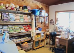Fabric Organization Sewing Quilting Room