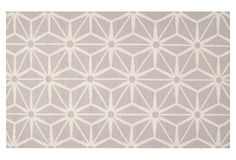 Bricklow Flat-Weave Rug, Taupe