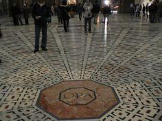mosaic pavements il duomo - chapter 104