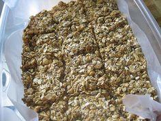 Easy 5 Minute Granola Bars