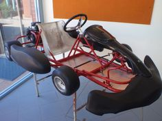 Picture of How to design and build a go kart. I doubt I could make this, but I'd love to try. I'd love to get this for my birthday/xmas/bribery gift someday.