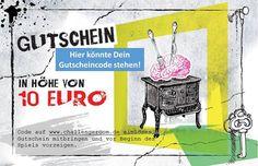 Morgen am Tag der offenen Touristen-Info in Regensburg:  Gutscheine für den Challenge Room!  Komm bei unserem Stand vorbei und sichere Dir einen unserer begehrten Gutscheine! Wir sind mit unseren Illuminaten-Meistern und -Meisterinnen live vor Ort :-)  Wir freuen uns auf Dich!