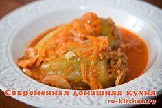 Фаршированный перец  Очень популярное блюдо русской кухни. Особенно летом – когда в продаже появляется тонкостенный салатный перец. Многие называют его по старой привычке болгарским.