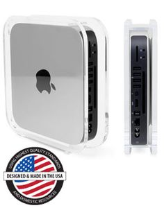 NuCube® Vertical Stand For all 2010, 2011, 2012, 2014-Current Mac mini Models Mfr P/N: NUCUBE10 OWC SKU: NWTNUCUBE10