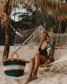 How To Wake Up Early, Wake Me Up, Black Girls, Black Women, Resort Wear For Women, Best Resorts, Resort Style, Hammock, Travel Inspiration