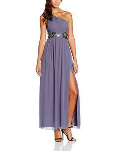 0ed8cb63c49b Little Mistress Maxikleid lavendel , Gr.34  Amazon.de  Bekleidung. Modische  KleiderKleider ...
