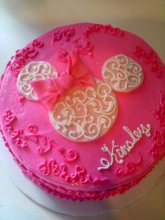 minnie mouse cake no fondant | Minnie Mouse cake — Birthday Cakes