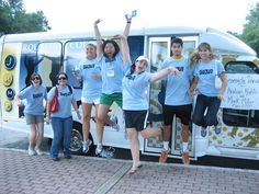 The JUMP Bus is a 14 passenger miniBus that was donated to the Office of Community Engagement at Rollins College in 2007 by Mark Miller, Rollins alum and owner of  Arabian Knights. The Office of Community Engagement has used the JUMP Bus on Immersion trips throughout Florida and the South East United States as well as  almost daily during the school year on local trips to engage the students in the local community.