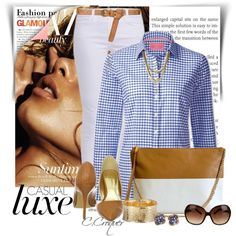 White&Tan by ccroquer on Polyvore featuring J Brand, Coach, Etrusca, Ettika, David Webb, Tory Burch and Zara