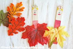 Autumn Ballerina - Kid Craft