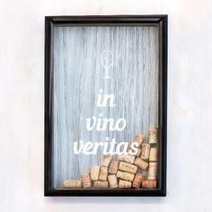 Копилка для винных пробок 'Wine Ver.2'  / In Vino Veritas