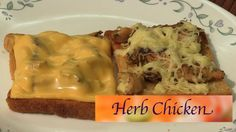 Make Herb Chicken on Open Toast by Smita || India Food Network