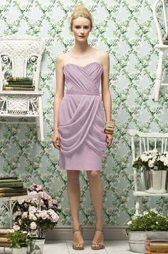 Suede Rose - Crinkle Chiffon Lela Rose Lr180 Bridesmaid Dress | Weddington Way
