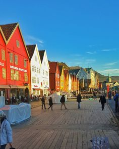 Bergen Norway's Second City and the Gateway to the Fjords. Photo by @janolebirkelund on Instagram.