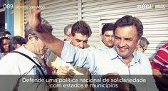 #AecioNeves engajado em uma política de solidariedade entre cidades e municípios. #MudandoOBrasil http://120diascomaecio.tumblr.com/