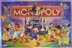 Disney Toys, Disney Cartoons, Disney Movies, Monopoly Board, Monopoly Game, Disney Princess Games, Disney Theme, Traditional Games, Kids Board