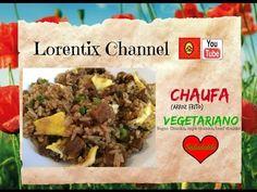 Arroz chaufa Vegetariano, #Arrozfrito #vegetariano #peruvianfood #Peru #fusion #arrozchaufa Suscribete a mi canal LORENTIX dame un like comenta y comparte este video para poder hacer mas como estos :)