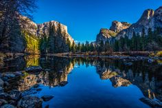 Yosemite Valley Reflections 3