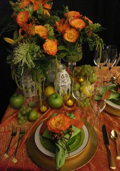 Orange-Yellow-Green_Tablescape