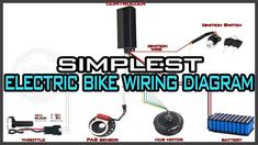 Electrical wiring diagram of motorcycle maxresdefault Giant Electric Bike, Electric Bike Kits, Electric Scooter, Kawasaki Motorcycles, Harley Davidson Motorcycles, Eletric Bike, Motorcycle Wiring, Electrical Wiring Diagram, E Scooter