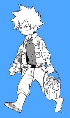 Boku no Hero Academia    Katsuki Bakugou