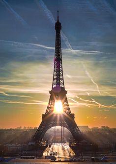 Light from Paris by Josselin Cornou on 500px