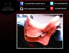 Silla caballo. #Talabartería #Cuero #silla #Caballo #Vaquería #Leather #Saddle #Horse #TalabarteríaPlinioOrtiz