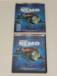 Finding Nemo (DVD, Set) for sale online Finding Nemo Dvd, Disney Pixar, Slipcovers, Ebay, Cases, Furniture Covers