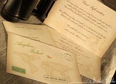 Love's Journey - Vintage Wedding Invitation Suite | 1 of 4