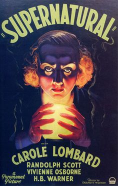Supernatural (May 1933). A serial black widow murderess returns to life in the body of a young woman to exact revenge on a former lover, a phony spiritualist who betrayed her.