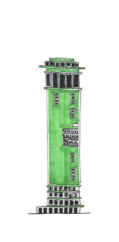 The Fallen Monuments of Egerkingen, Eva Lanter - ATLAS OF PLACES Pisa, Tower, Architecture, Monuments, Fall, Places, Arquitetura, Autumn, Rook