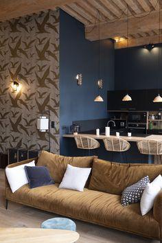 Living Room Decor, Living Spaces, Casa Loft, Western Homes, Interior Decorating, Interior Design, Lofts, Sweet Home, House Design