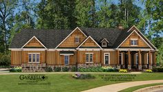 The Sugarloaf Cottage House Plan 11015 by Garrell Associates, Inc. Design by Michael William Garrell. http://garrellassociates.com/floorplans/sugarloaf-cottage-house-plan