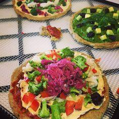 Homemade Sauerkraut, Health Coach, Ios App, Raw Food Recipes, Bruschetta, Vegetable Pizza, Lunch, Ethnic Recipes, Pretty