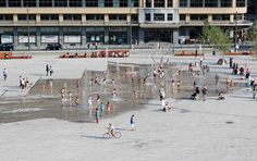 Place Flagey by Latz + Partner 02 © Bernard Capelle « Landscape Architecture Works | Landezine